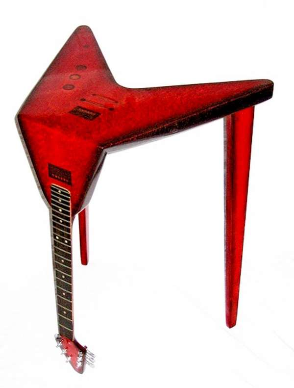 Bent Guitar Tables
