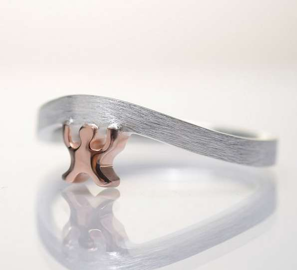 bent metal ring