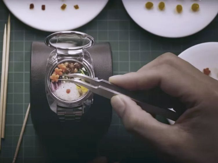 Snack-Storing Watches
