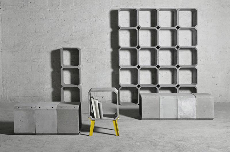 Framed Cement Furniture