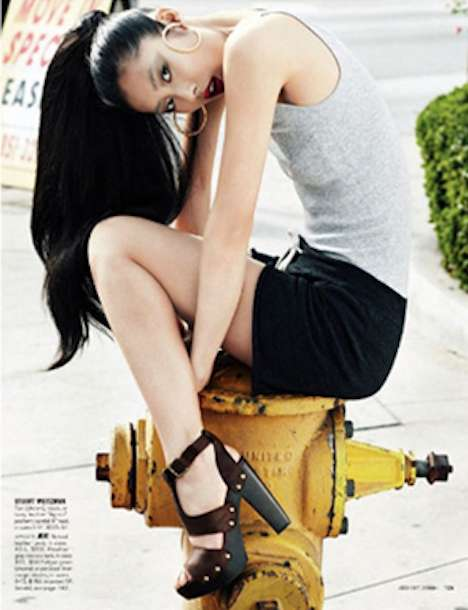 Fire Hydrant Fashion Shoots