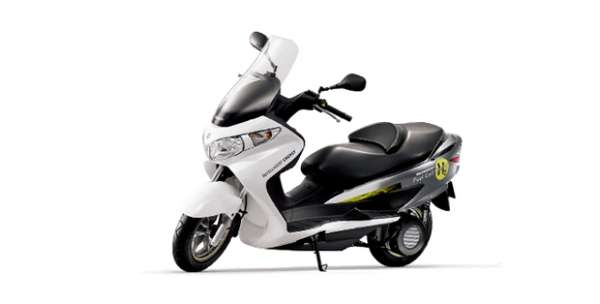 Bergman Fuel-Cell Scooter