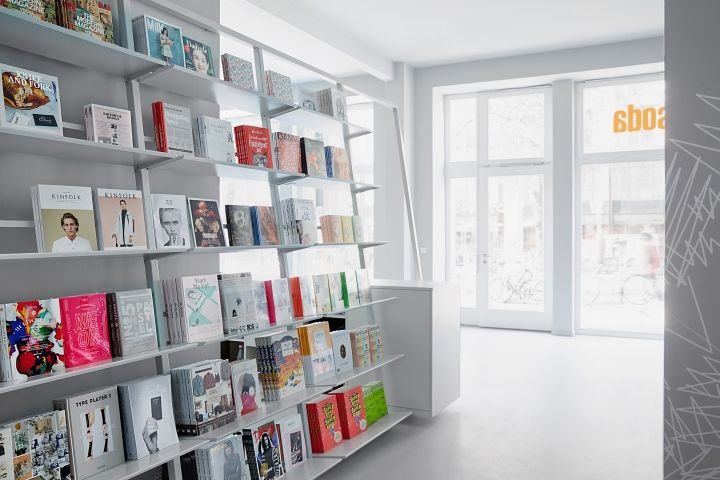 Whiteout Bookstore Interiors