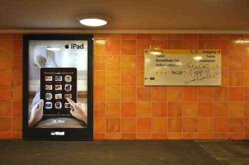 Naughty iPad Ads