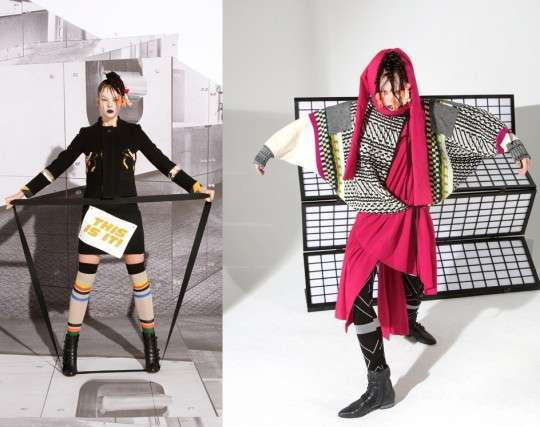Eccentric Layered Fashion