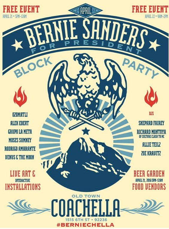 Presidential Candidate Block Parties