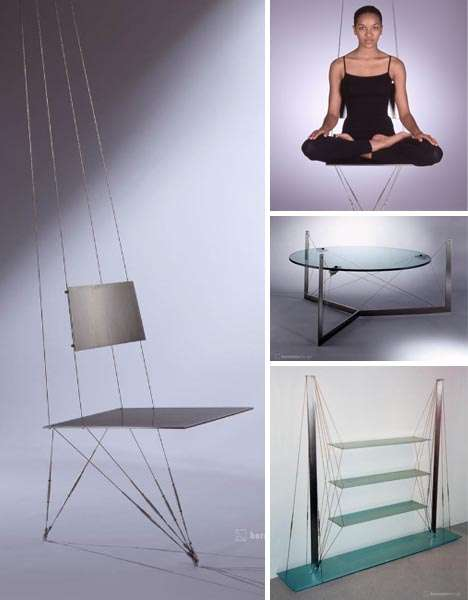 Suspended Bedrooms