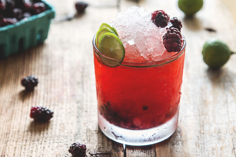 Tropical Berry Cocktails