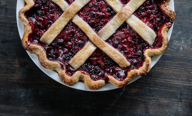 Rustic Berry Pies