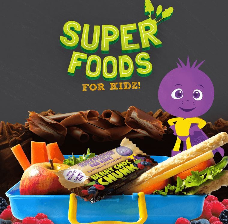 Berry Superfood Snacks