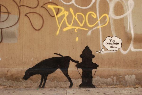 Daily Street Art Installations