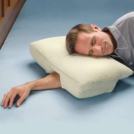 Arm-Accommodating Cushions