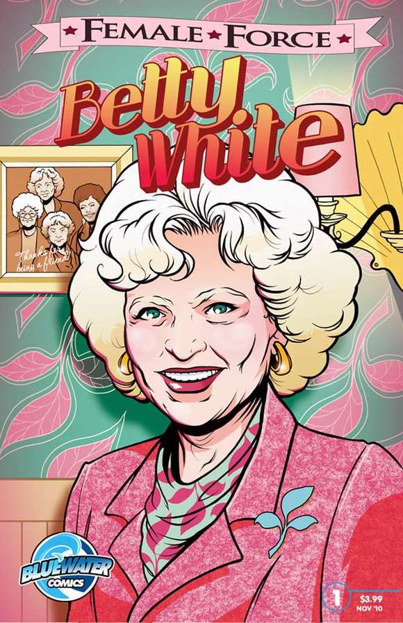 Betty White comic book