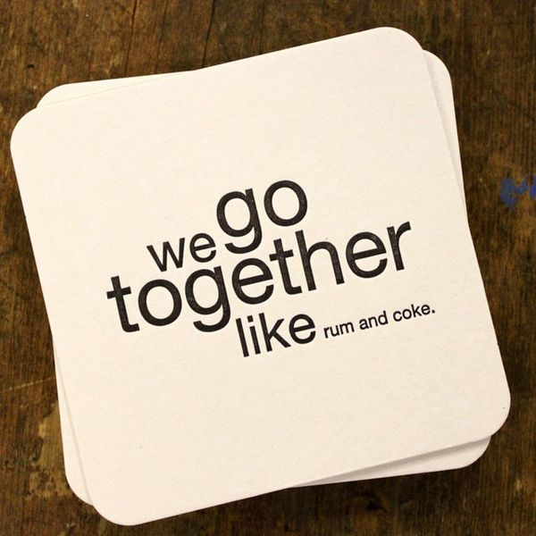 Silly Simile Coasters