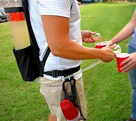 Backpack Beverage Dispensers