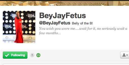 Prenatal Popstar Tweets
