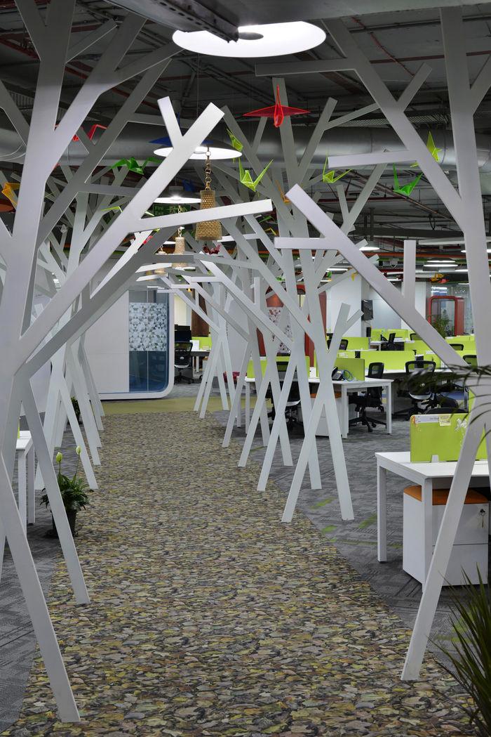 Spacious Environmental Office Spaces