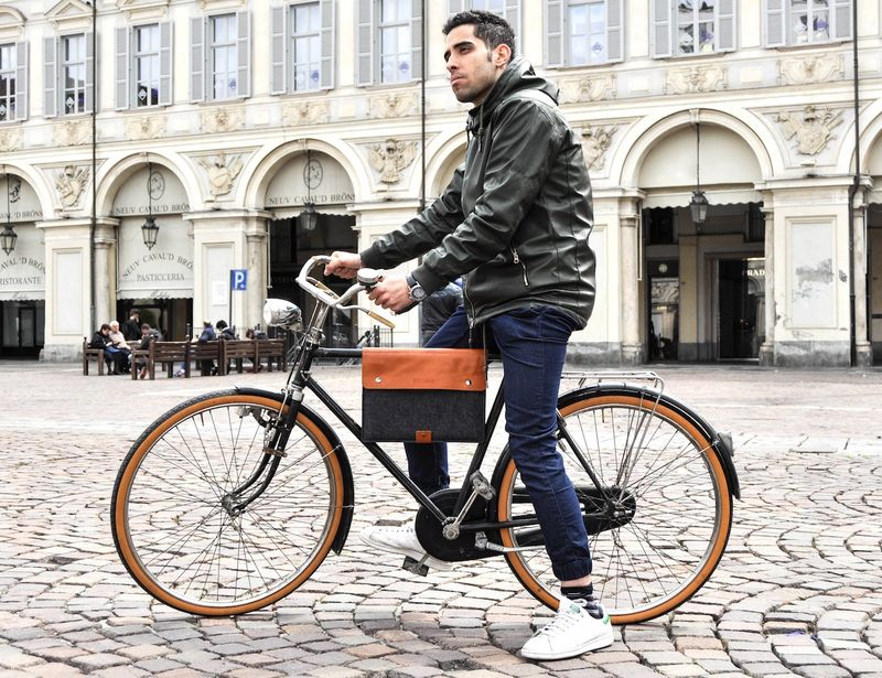 Fashionable Cyclist Bags