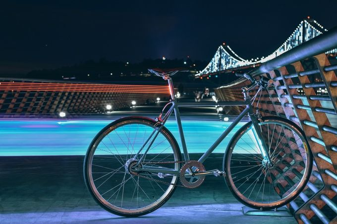 Illuminating GPS Bicycles