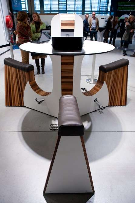 Eco-Friendly Bicycle Desks
