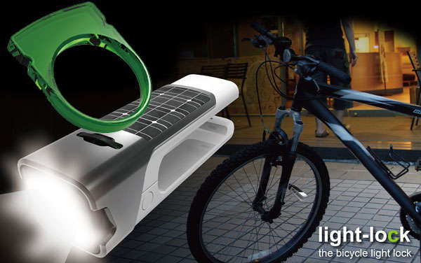 Bicycle Light Lock