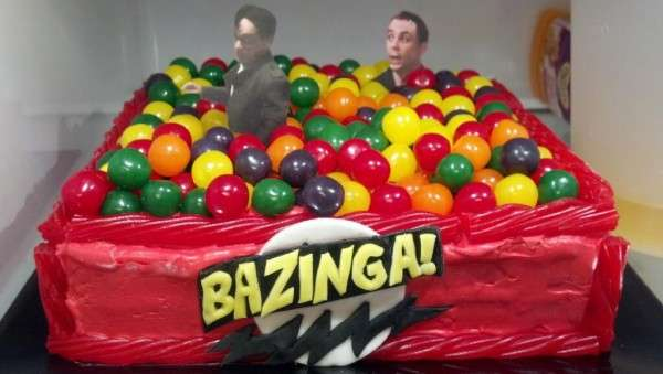 Big Bang Theory Cake