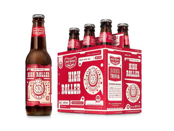 Retro-Modern Beer Packaging