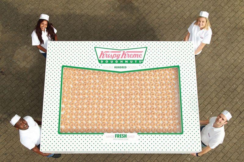Gigantic Donut Boxes