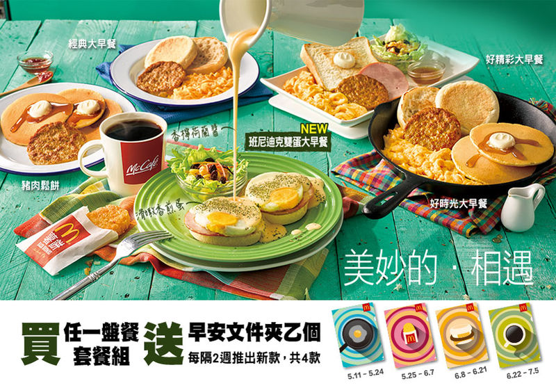 Fast Food Breakfast Platters