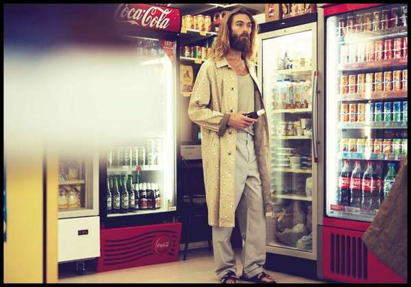 Film-Inspired Menswear Shoots