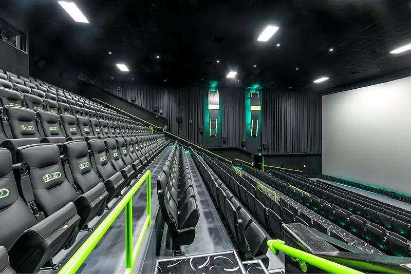 Three Storey Movie Screens Big Theater Screen