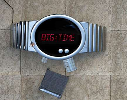 LED Wrist Watch Tables