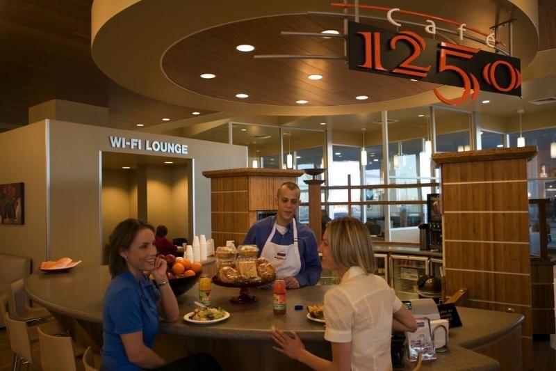 Gourmet Dealership Cafes