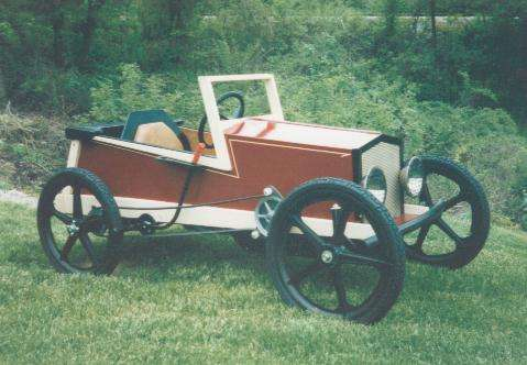 how to build a hand car from a bicycle