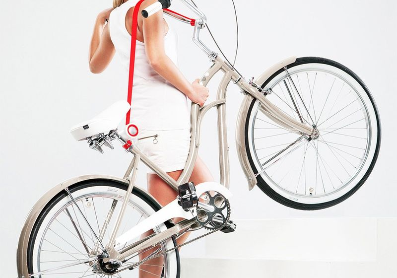 Shoulder-Bearing Bike Carriers