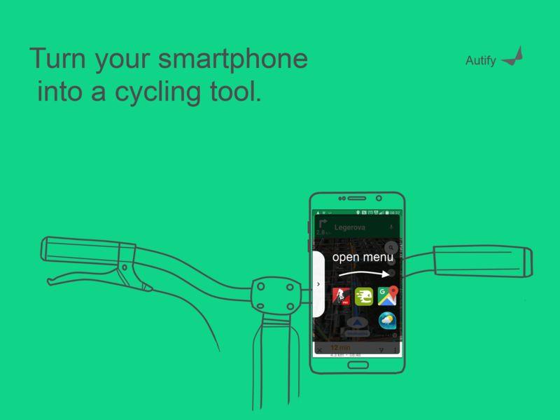 Gesture Control Biking Apps