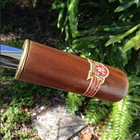 Cigar-Inspired Bike Grips