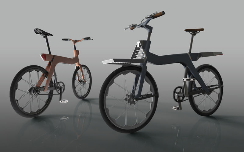 Structurally Swappable Bicycles