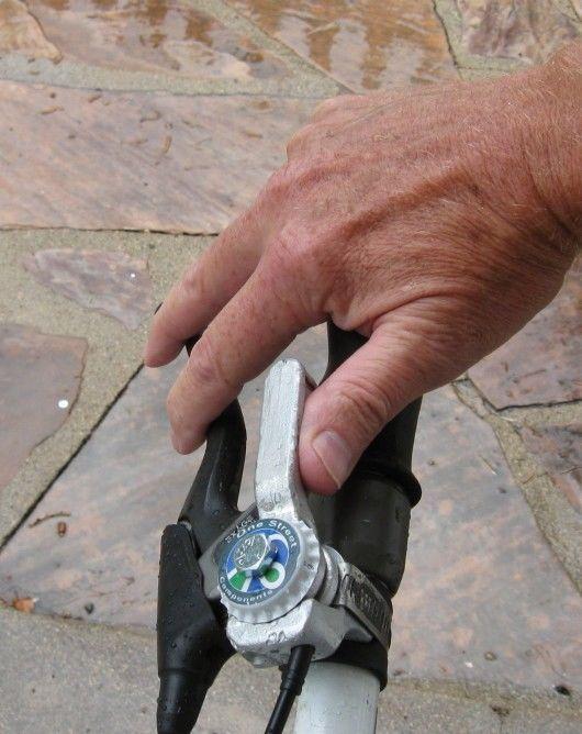 Scrap Metal Bicycle Levers