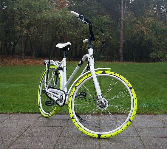 Winter Bike Tire Attachments
