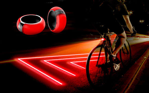 bike zone projector