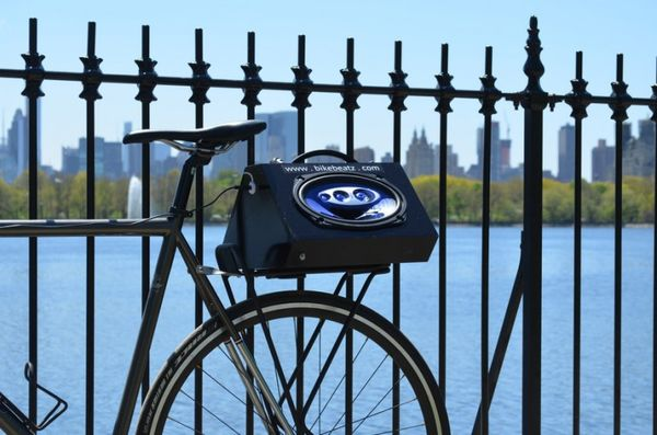 Wireless Cyclist Speakers