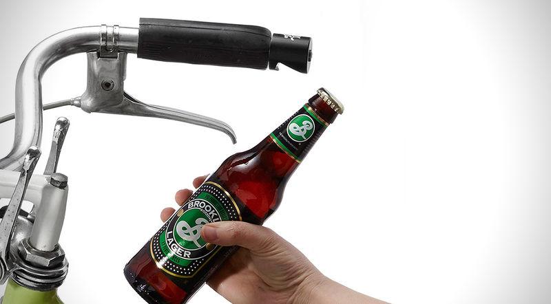 Handlebar Bottle Openers
