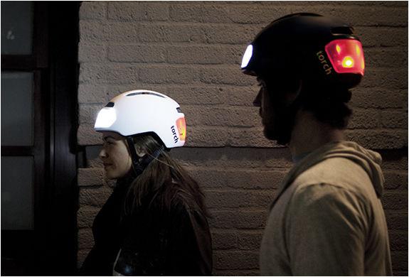 Headlight-Flashing Helmets