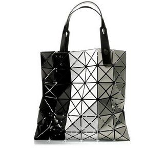 Silver Space Tote
