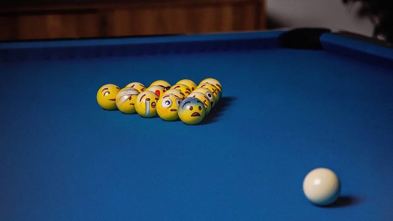 Emoji Billiard Balls