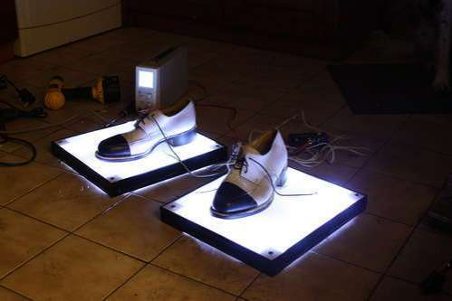 DIY King of Pop Shoes