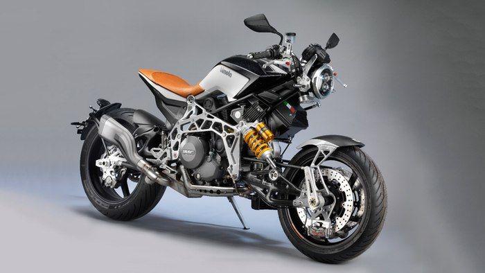 Steampunk-Styled Motorbikes