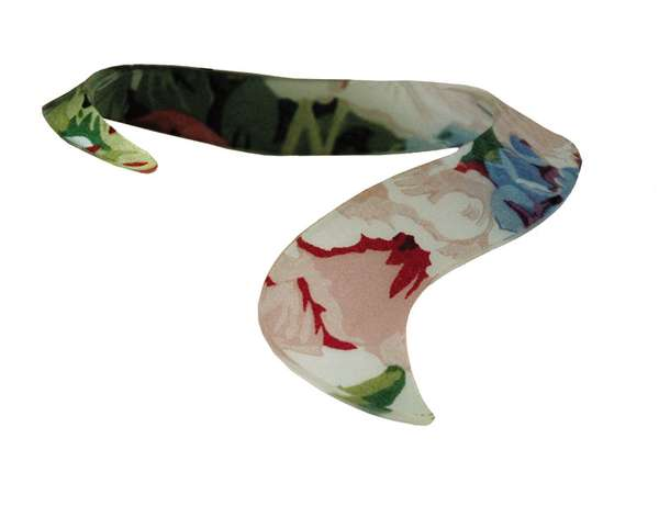 Plastic Floral Fashion Pieces