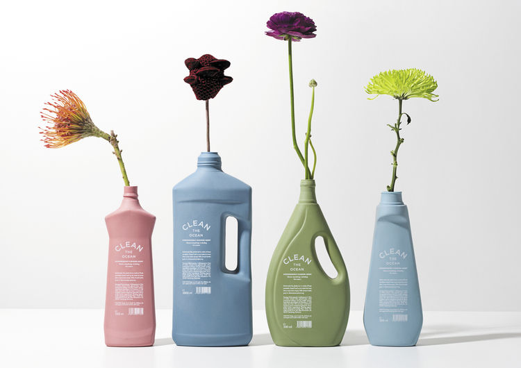 Biodegradable Cleaning Bottles